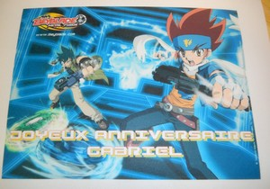 Disque azyme Beyblade rect deco azyme