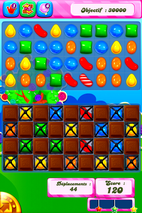 disque azyme Candy crush choco