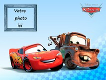 Disque azyme Cars A4 photo