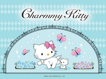 Disque azyme Charmmy Kitty papillons a4