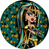 Disque d azyme monster high cléo coeur