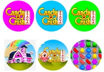 disque azyme candy crush cupcakes