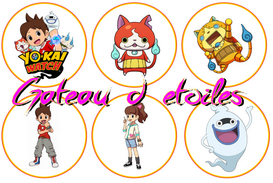 Disque azyme cupcake  Yo Kai Watch