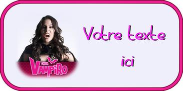 Populaire Disque azyme Chica Vampiro KE38