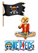 One piece kit de décoration