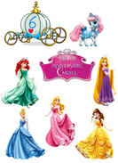 . Kit de décoration princesses