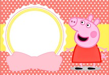 Disque d azyme Peppa pig Photo A4