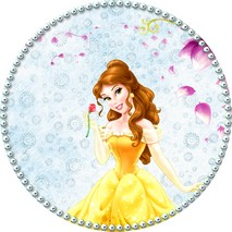 Disque azyme Princesses Disney Belle