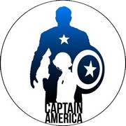 Disque azyme Marvel Captain America