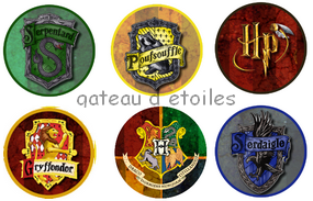 disque azyme cupcakes Harry Potter