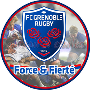 Disque azyme rugby Grenoble