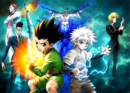 Disque azyme Hunter x Hunter a4