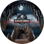 disque azyme jurassic world dinosaure
