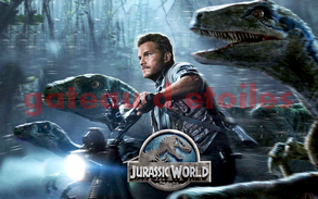 Plaque azyme Jurassic World