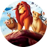 disque azyme roi lion