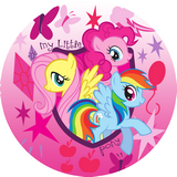 Disque azyme My little Pony