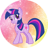 Disque azyme My little Pony Twilight Sparkle