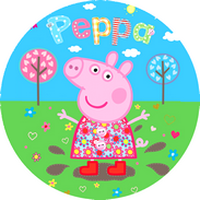 Disque d azyme Peppa pig