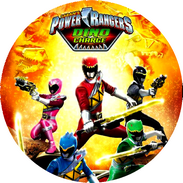 Disque azyme Power Ranger