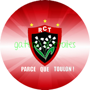 Disque azyme rugby Toulon RCT