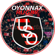 Disque azyme rugby Oyonnax