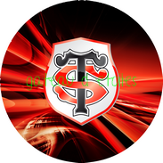 Disque azyme rugby Stade Toulousain