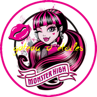Disque azyme Monster high Draculaura