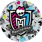 disque d'azyme Ecusson Monster high