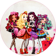 Décorations en azyme Ever After High