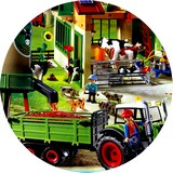 Disque azyme tracteur playmobil