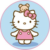 Disque azyme Hello kitty nounours