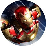 Disque azyme Marvel Iron Man
