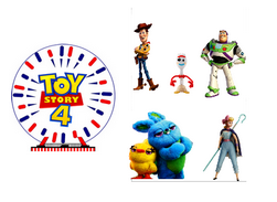 Décorations en azyme Toy story