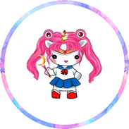 Disque azyme Licorne Sailor Moon