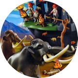 Disque azyme mamouth playmobil