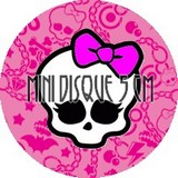 Disque d azyme Monster High mini(par3)