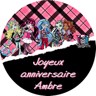 disque azyme monster high