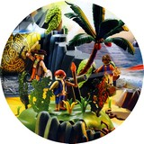 Disque azyme pirates playmobil