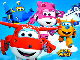 Plaque azyme Super Wings