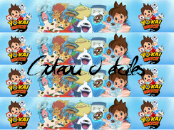 Disque azyme  Yo Kai Watch rubans