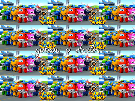Rubans azyme Super Wings