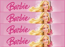 Rubans azyme Barbie