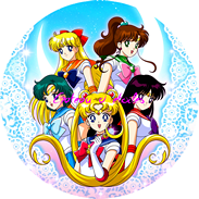 Disque azyme Sailor Moon