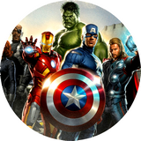 Disque azyme Marvel The Avengers