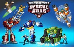 Disque azyme Transformers rescue bot